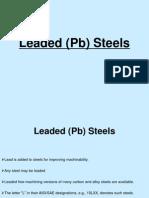 Leaded (Pb) Steels