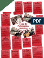 Foros de Participación Ciudadana