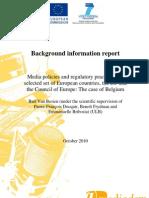 Background Information Report Mediadem (Belgium)