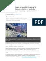 El Pais El Valle Del Cauca Se Queda Sin Gas y La Fecha de Restablecimiento Es Incierta