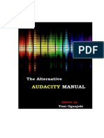The Alternative Audacity Manual