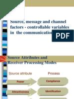 Source Message Factors
