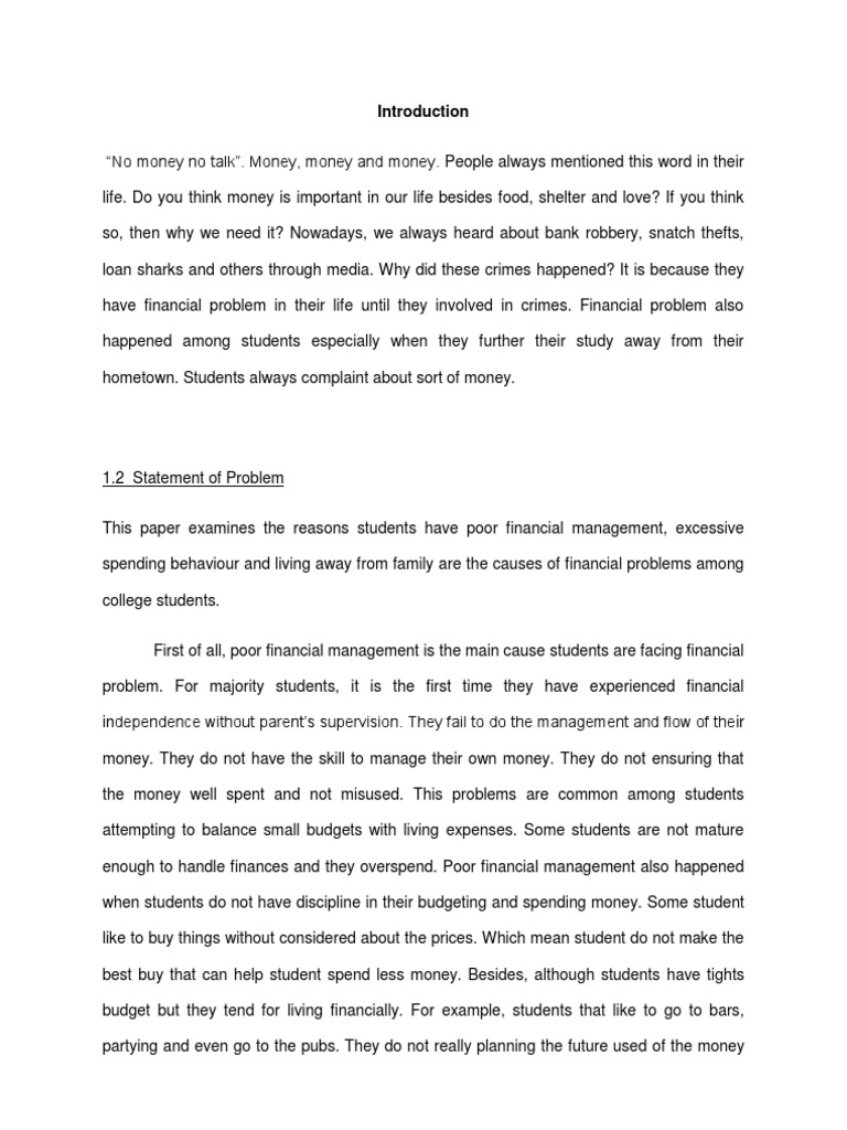 essay introduction about money Do money and possessions bring happiness essay na essay how to write the perfect college essay introduction how to make a essay cover page.