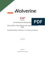 ESP User Manual V1.0