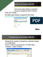 Transfer en CIA de Datos NIKON