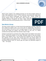 Daily Commodity Update 19-12-2011
