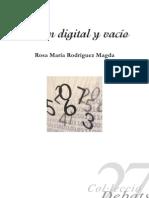 Rodríguez Magda, Rosa M.-Razón digital y vacío