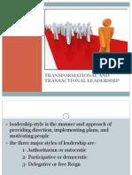 Leadership Ob Presentation