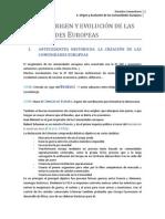 Tema 1 ok - Origen y Evolución de las Comunidades Europeas (completo)