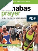 Prayer Diary Jan Feb 12