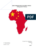 Beijing Foreign Policy in West Africa Finale