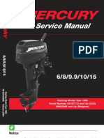 Mercury Download 1986 2003-6-8 9-9-10 15 Hp Service Manual 2 Stroke