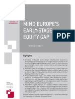111219 Pc Rv Mind Europe s Early-stage Equity Gap