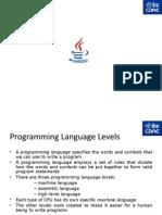 Lecture 1 Core Java