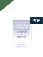 Guía de buena práctica clínica en geriatra. Depresión y ansiedad