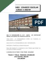 Información a Las Familias Consejo Escolar.Eskolako Kontseiluko Hauteskundeak