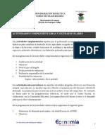 Actividades Comp y Extr Economia 2011 2012