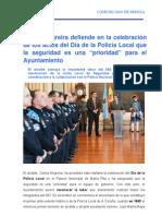 19-12-11 ALCALDÍA_Día de la Policía Local
