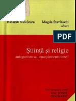 (basarab nicolescu, magda stavinschi) stiinta si religie