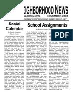 EBCA Newsletter November 2008