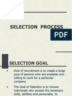 10. Selection Process