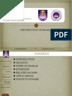Principle of Dharar