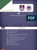 Principle of Uruf