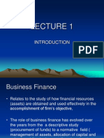 LECTURE -Introduction and Ratios(1-5)(Sem2)