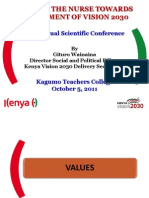 53rd Annual Conference - Kagumo TTC Oct 5, 2011