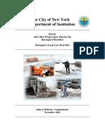 Brooklyn Snow Plan 2011-2012