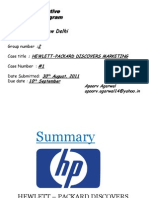 Assignment#1 Hewlett Packard