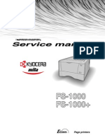 Kyocera FS-1000 Plus Service Manual