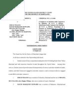 Dunbar robberies indictment