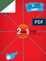 """2za1.si, december 2011 - maj 2012, zahodna Slovenija - knjiga kuponov """"dva za ena"""""""
