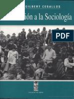 Introducción sociología por  Jorge Gilbert