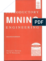 Introductory Mining Engineering - 2nd Edition by Hartman