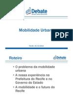 Documento de Jarbas para a Comissão de Mobilidade