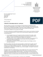 AHSS Letter to City of Edinburgh Councillors
