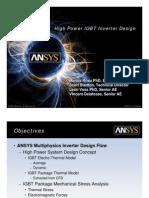 High Power IGBT Inverter Design
