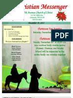 December 19 Newsletter
