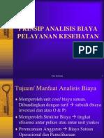(Tata )Prinsip Analis Biaya Yankes