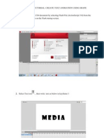 Create a New Flash CS4 Document by Selecting Flash File