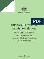 Offshore Petroleum Safety Regulat Australia
