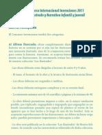 TEXTOCARTEL INVENCIONES 2011