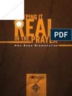 Keeping It Real in the Prayer