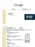 Presentation of Google