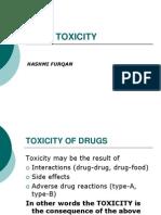 Drug Toxicity