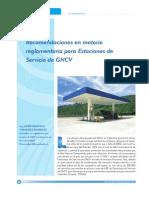 Recomendaciones en materia reglamentaria para Estaciones de Servicio de gas natural comprimido vehicular. Javier Fernandez