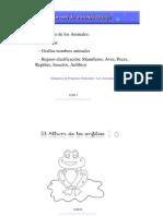 Cuadernillo Los Animales