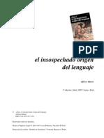 Klauer Alfonso - Gua El do Origen Del Lenguaje
